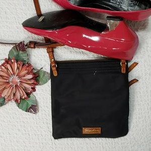 DOONEY & BOURKE navy blue with pink crossbody bag